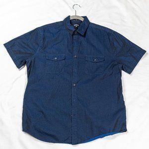 Men's Express Chambray Two-Pocket Short Sleeve